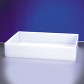 "Dynalon 108874-8 Lab Tray, HDPE, 16 x 16 x 8"", 33.5 Liters"