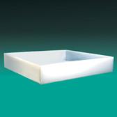 Dynalon 109934 Lab Tray, HDPE, 34 x 30 x 4'', 46.5 Liter