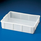 "Dynalon 208154-0010 Stackable Deep Tray, HDPE, 17 x 12 x 4"", 10 Liters"