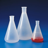 Dynalon 241305 50mL, Erlenmeyer Flask, case/12