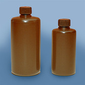 Dynalon 301745-0005 Bottle, HDPE, Narrow Mouth, Amber 5oz, case/72