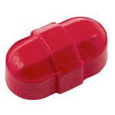 """Dynalon 304425-0002 Octagonal Stir Bar, Red 5/16 x 5/8"""", case/12"""