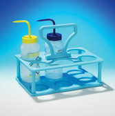 Wash Bottle Carrier Blue