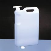 Dynalon 405684 Bottle, Space Saver, 5 L with Faucet, case/12