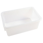 Dynalon 410535 Tote Boxes, Natural Polypropylene, 12 x 8 x 5, case/6