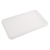 Dynalon 410535-0001 Lids for Tote Boxes, Natural Polypropylene, case/6