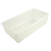 Dynalon 410545 Tote Boxes, Natural Polypropylene, 19 x 10 x 5, case/6