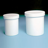 Dynalon 426325-1600 Jars, Polypropylene, White 16oz, case/36
