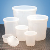 "Dynalon Containers, Disposable, 16oz (480mL) 3.7 x 3.8"", case/100"