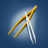 Dynalon 516555-0003 Tweezers, Yellow 180mm, case/6