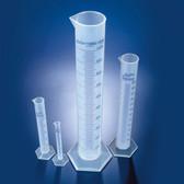 Dynalon 537815-0250 Graduated Cylinder, Polypropylene, 250mL, case/10