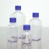 Dynalon Square Bottle, Polycarbonate, Blue Cap 2000mL