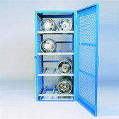 Denios Gas Bottle & Cylinder Storage Cage - 8 cylinder