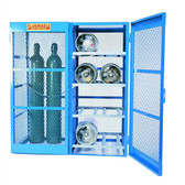 Denios Gas Bottle & Cylinder Storage Cage - Combination Horiz and, Vertical