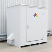 Denios N05-3015 Hazmat 6 Drum Storage Building, Non-Combustible