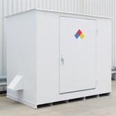 Denios N05-3020 Hazmat 8 Drum Storage Building, Non-Combustible