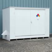 Denios N05-3030 Hazmat 10 Drum Storage Building, Non-Combustible