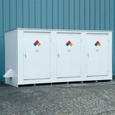 Denios N05-3040 Hazmat 14 Drum Storage Building, Non-Combustible