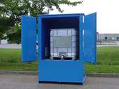 Denios 1-Tote IBC Containment Locker, Fire Rated