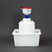 """4"""" ECO Funnel, System, 9 Liter, 100mm, Secondary Container"""