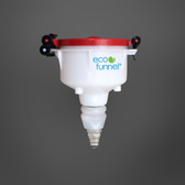 "4"" ECO Funnel with Polypropylene Quick Disconnect Adapter"