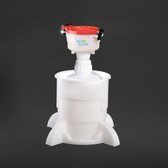"4"" ECO Funnel, System, 2 Liter, Cap Size 53mm with Base"