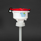 "4"" ECO Funnel with 63mm cap adapter"