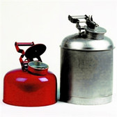 Eagle 1423 Disposal Can, 2.5 gallon EAGLE, Red metal, Galvanized Steel hardware