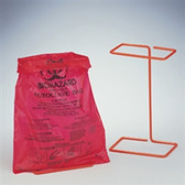 Disposal Bag Holder with 400 extra bags, POXYGRID 8.5 x 11