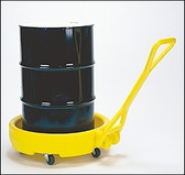 Eagle 1613 Drum Cart, Drum Bogie Mobile Dispensing Unit for 30, 55 and 95 gal drums