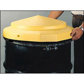 Eagle 1667 Drum Cover, Plastic, for 55 gallon Open Head Drums, Each