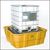 Eagle 1683 IBC Platform, 400 gallon IBC Containment Unit, Poly