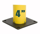 "Eagle 1732BASE Poly Base for 4"" Bollard Covers / Post Sleeves"