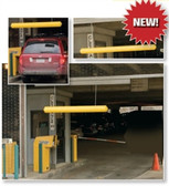 "Eagle 1781 7"" Hanging Clearance Bar for Auto Garage or Drive Through, Yellow"