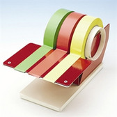 Multiple Roll Tape Dispenser for Write-on Label Tape Small