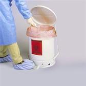 Justrite 6 gallon Biohazard Waste Can, Choose Color