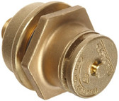 "Justrite 08102 Brass Drum Vent Kit with 3/4"" Reducer"