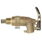 Justrite 08902 Rigid Brass Safety Faucet