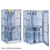 Justrite 23010 8 cylinder, Vertical Gas Cylinder Storage Locker (CSA)
