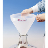 350mm Carboy, Funnel, Large Autoclavable PP