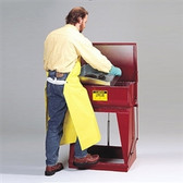 Justrite 27110 11 gallon Steel Rinse Tank by, Floor Standing