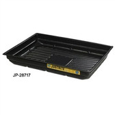 Justrite 28717 Secondary Containment Tray, 47.5 x 23 x 5.5""