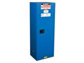 Justrite ChemCor Slimline HazMat Safety Cabinet, 22 gal, 3 shelves, Self-Close