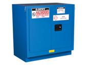 Justrite EX Undercounter HazMat Safety Cabinet, 22 Gal, 2 self-close doors