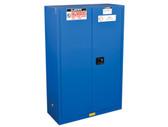 Justrite ChemCor HazMat Safety Cabinet, Cap. 45 gal, 2 self-close doors