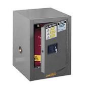 Justrite 890403 Flammable Countertop Cabinet, 4 gallon gray manual