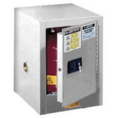 Justrite 890405 Flammable Countertop Cabinet, 4 gallon white manual