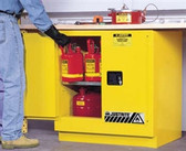 Justrite 892300 Undercounter Flammable Cabinet, 22 gallon manual