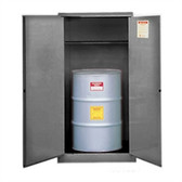 Justrite 896203 Flammable, Vertical Drum Cabinet, 55 gallon gray manual