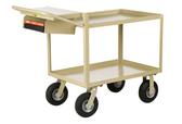 Little Giant GL-2436-9P-WSP Instrument Cart, Lip Shelves, Pocket, 24 x 36